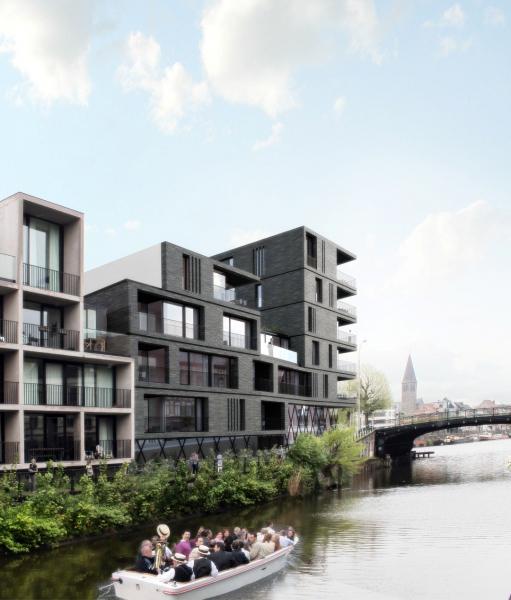 Apartments Joremaaie Gent Projects Caan Architecten Gent